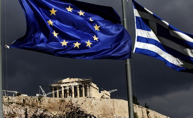 Greece EU Flag